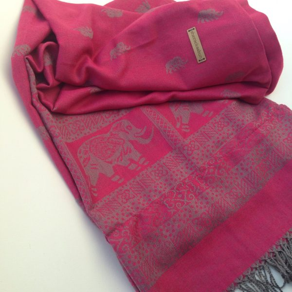 Aniline red pocket scarf by sherocksabun