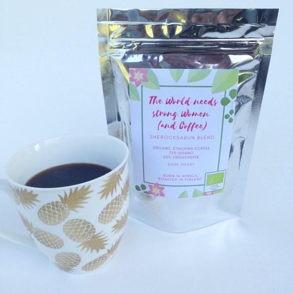 Sherocksabun organic Ethiopian coffee blend