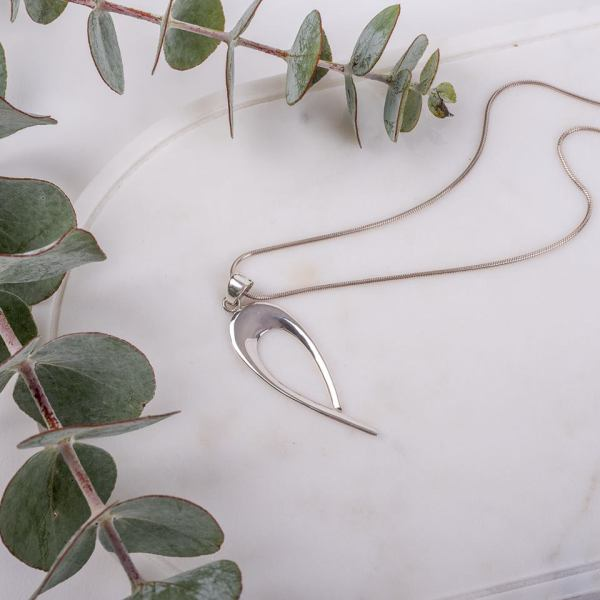 Item # 0014Sterling Silver Love PendantAUD $ 28.50 (chain not included)