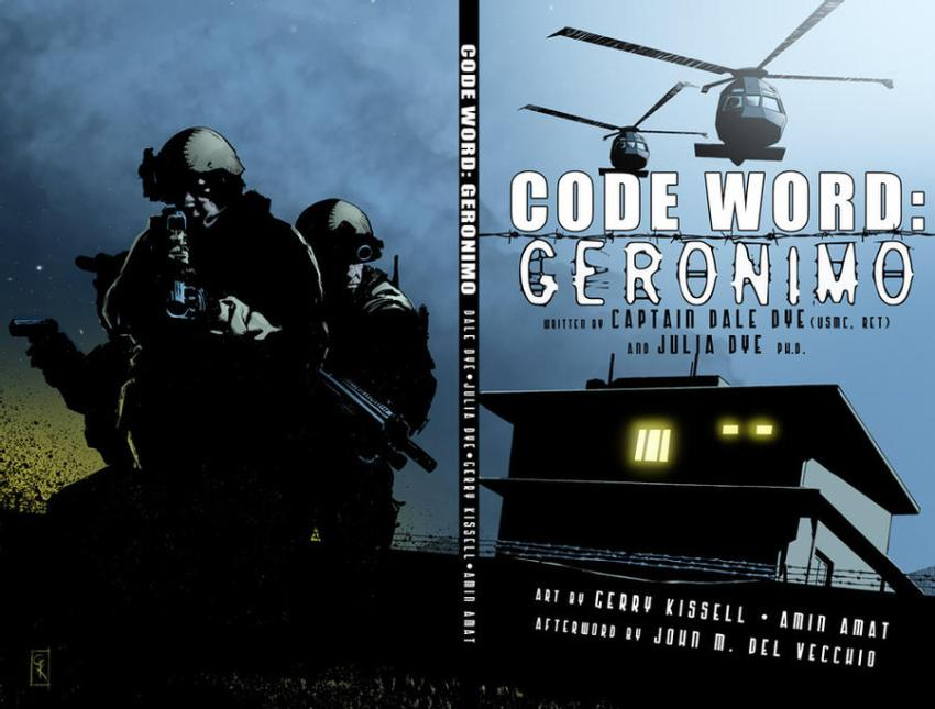 """Code Word: Geronimo"" cover"