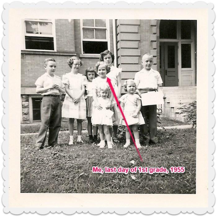 Last day of school 1955