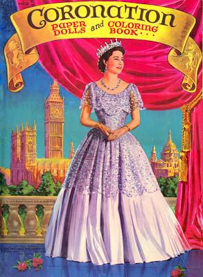 Queen Elizabeth II Paperdolls