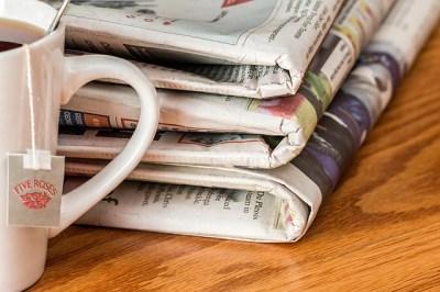 Newspapers and Tea