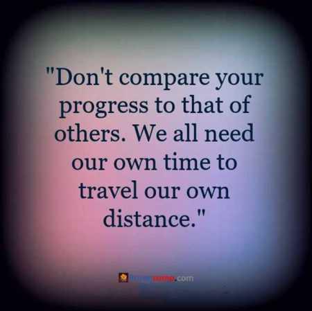 progress, comparing, timing,