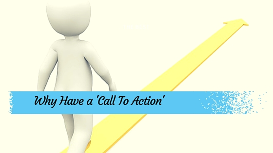 Importance of a call to action