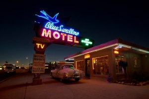 ROUTE 66 BLUE SWALLOW