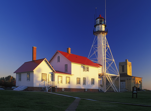 I didn't appreciate lighthouses until I learned that my grandpas manned them for the Coast Guard.