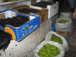 olives in Jerusalem
