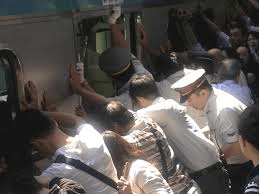 Japanese Commuter Train Rescue