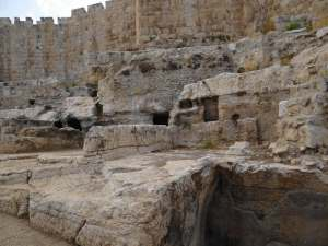 Ruins of David's Palace, Jerusalem, Photo courtesy of Larry Mize