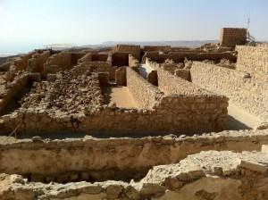 storage rooms at Masada