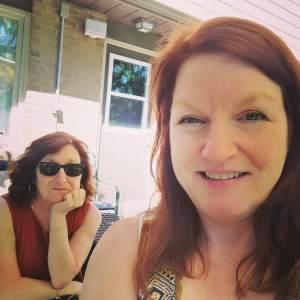 Stacey & Sherrilynne in blogosphere