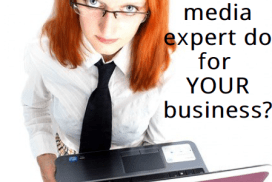 Free ebook: What can a social media expert do for YOUR business?
