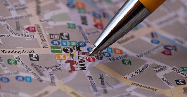 zip code targeting street map