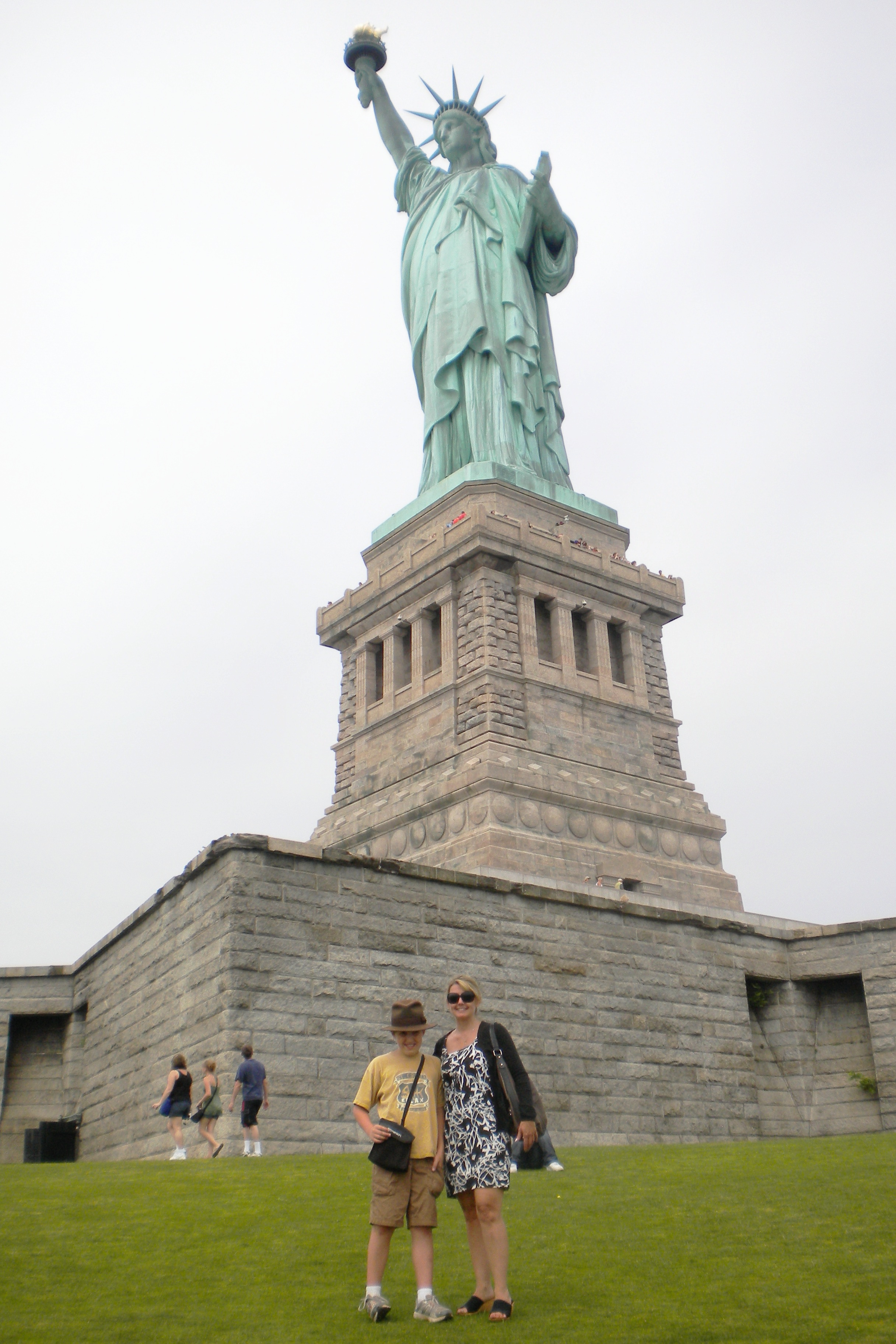 Welcome To America A Visit To The Statue Of Liberty
