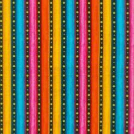 Wide striped fabric
