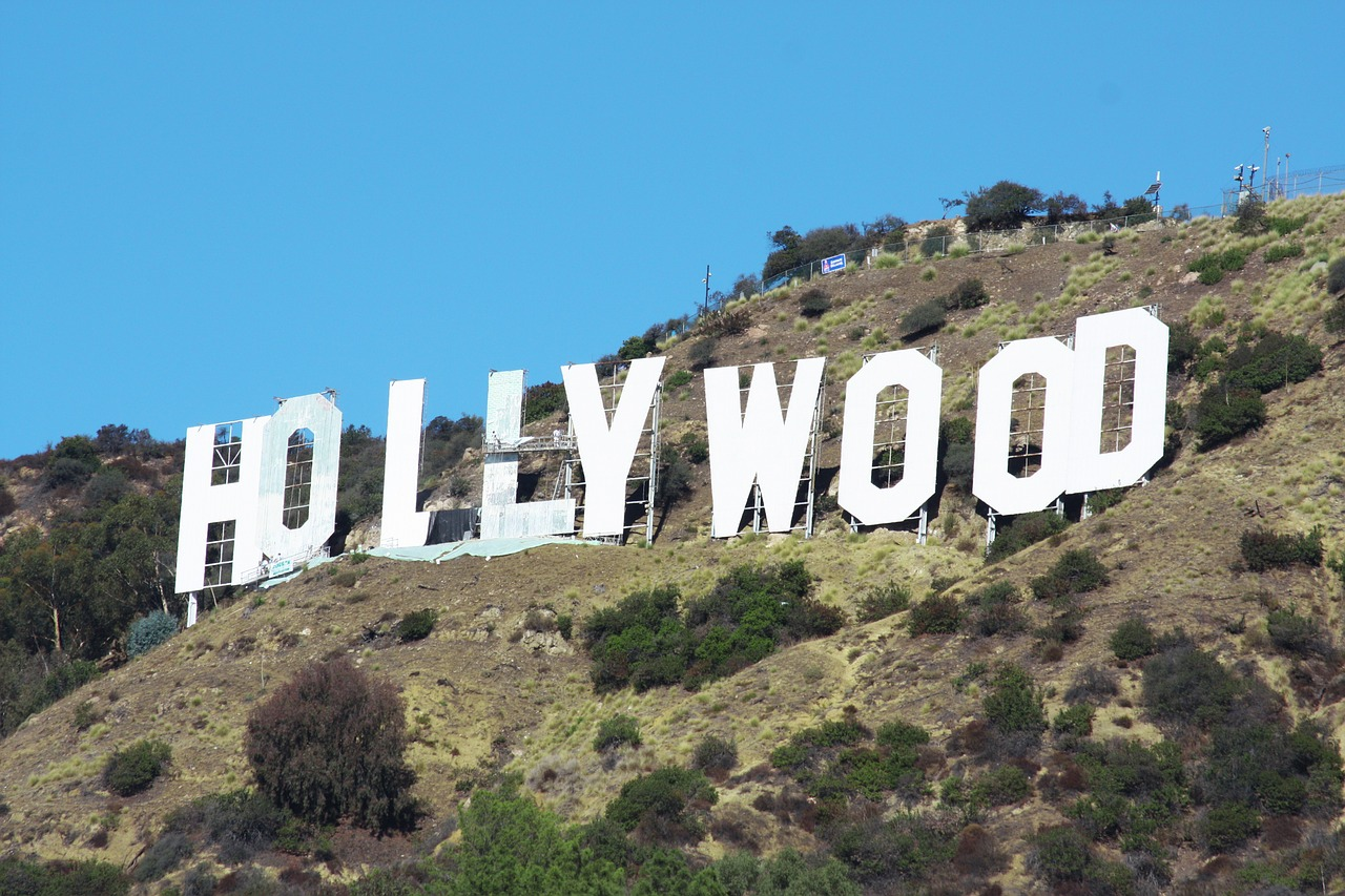 The infamous Hollywood Sign