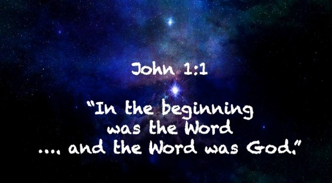 Week # 6 Wisdom Builder John 1:1