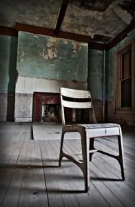 Chair in Room, Preston Castle, Ione, CA 2009