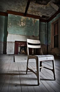 Chair in Room, Preston Castle, Ione, CA 2009