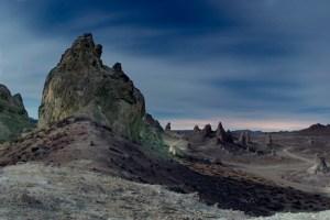 Trona Pinnacles (Blue Moon), Trona, CA