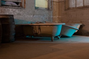 Bathtubs, Preston Castle (Ione, CA)
