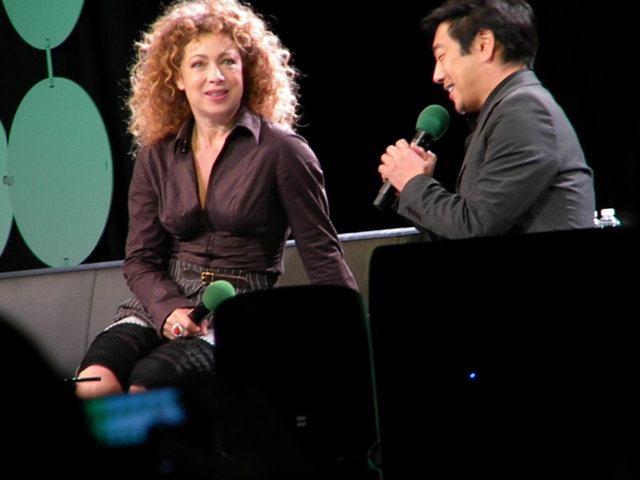 Alex Kingston ECCC 2015