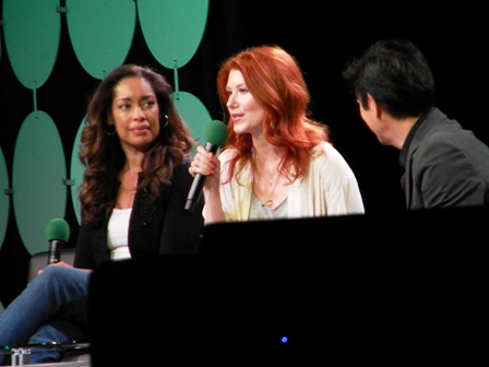 Jewel Staite Gina Torres Firefly ECCC 2015