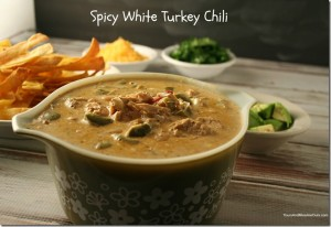 Spicy White Turkey Chili