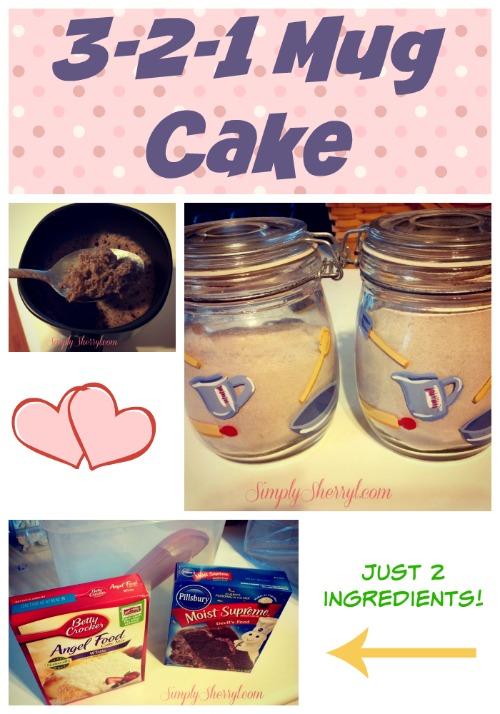 321 Mug Cake