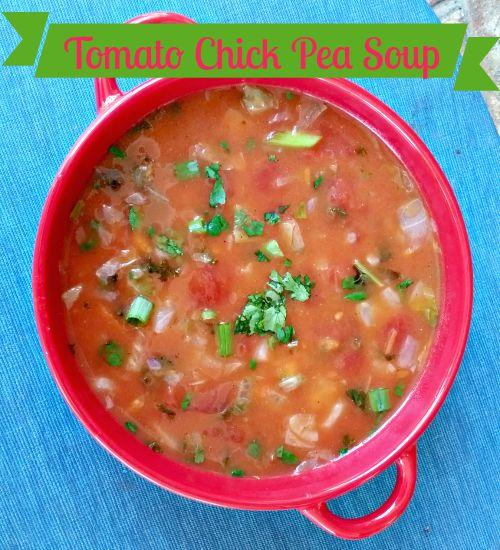 Tomato Chick Pea Soup