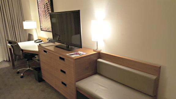 McCormick Place Hyatt Room Desk