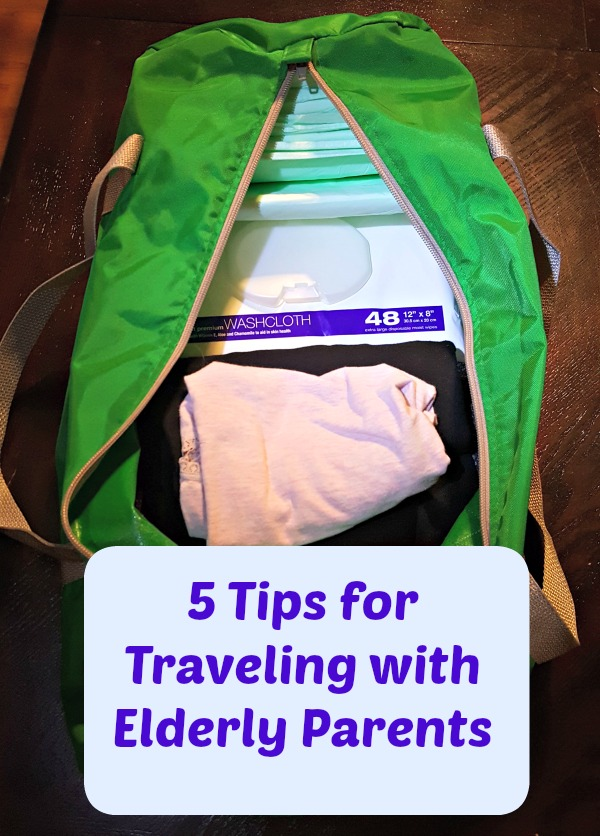 5 Tips for Traveling with Elderly Parents