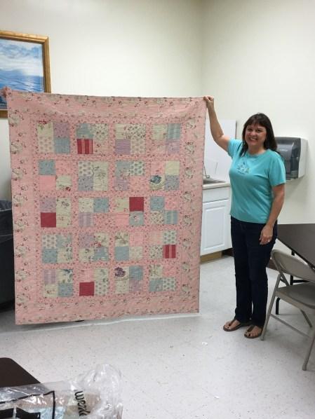 First Quilt: 4 Patch
