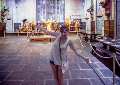 Welcomed by the great hall - Harry Potter World - England