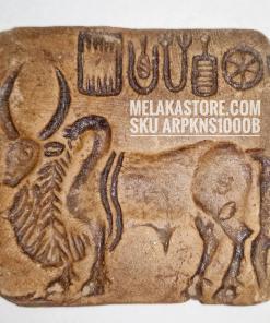 Zebu Bull Seal Mohenjodaro Decorative Seal