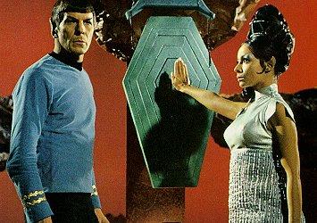 Spock och en riktig vulkansk kvinna