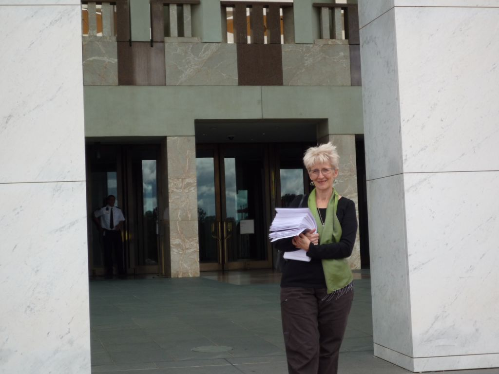 The Petition in Canberra