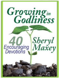 Growing In Godliness by Sheryl Maxey