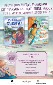 Storytime with Sheryl McFarlane, Kit Pearson and Katherine Farris