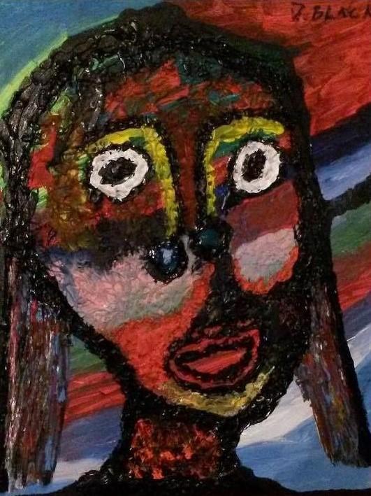 """Girl Moheka"" by Darrell Urban Black"