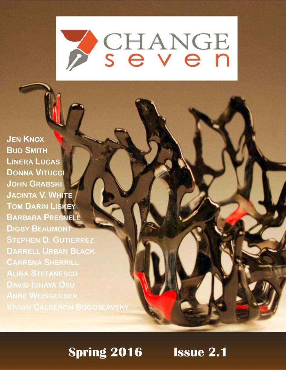 Spring 2016, Issue 2.1, Cover: Sculpture by Vivian Calderon Bogoslavsky