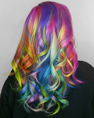 13 Reasons Why Tie Dyed Hair Is To Die For SHESAID