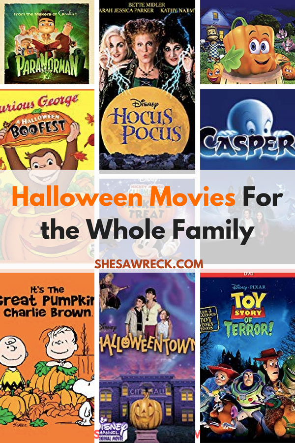not so scary halloween movies for the whole family halloween family fallfun