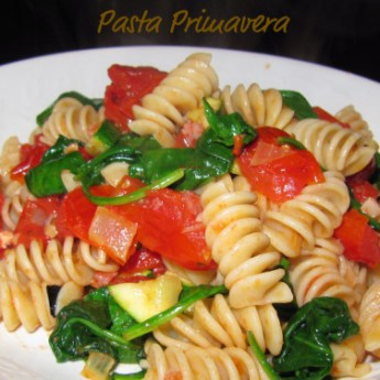 Mission Meatless – Pasta Primavera