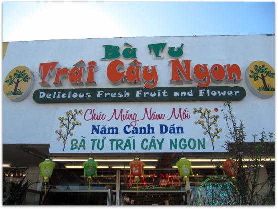 Shops in Little Saigon