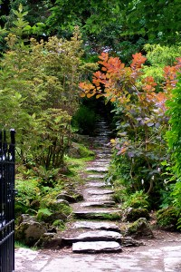 Garden Path at Muckross House, County Kerry #Ireland | ShesCookin.com