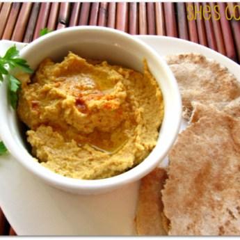 5-minute Spicy Hummus