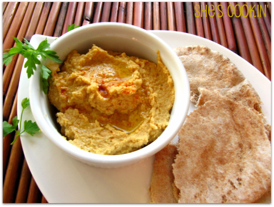 Spicy Hummus, 5 Minute Spicy Hummus