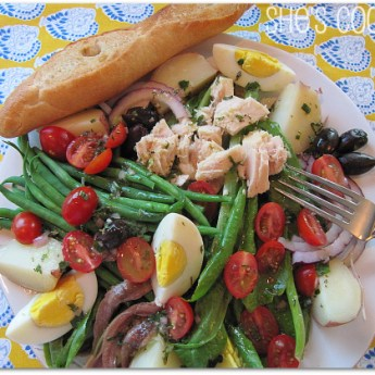 Dreaming of the French Riviera… Niçoise Salad